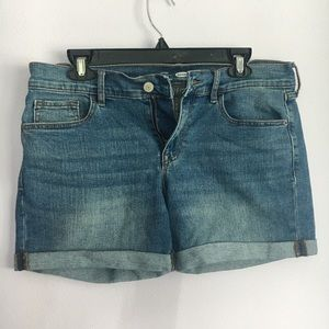 Old Navy Fitted Jean Shorts